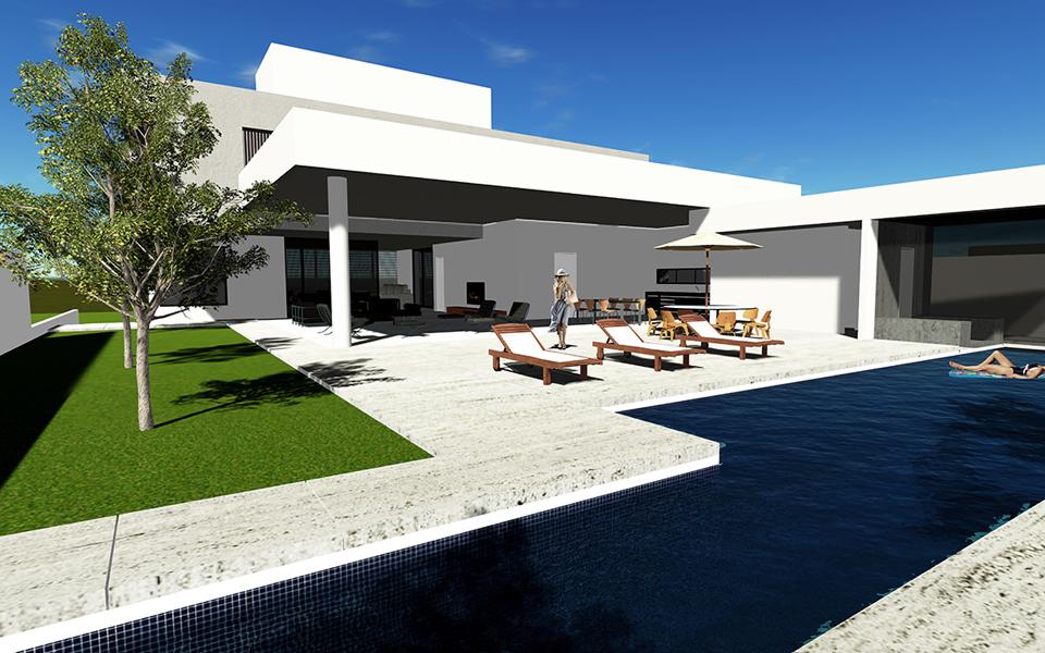 Ana Paula e Sanderson /  Casa Terraço